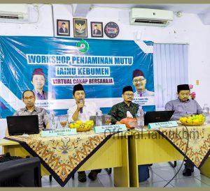 LPM:WORKSHOP PENJAMINAN MUTU INSTITUT AGAMA ISLAM NAHDLATUL ULAMA (IAINU) KEBUMEN1