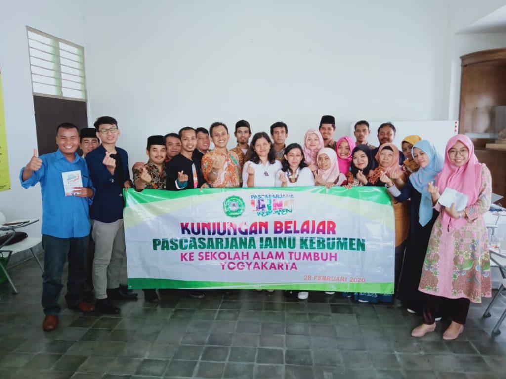 Kunjungan Belajar ke Yogyakarta; Mahasiswa Pascasarjana IAINU Kebumen 1