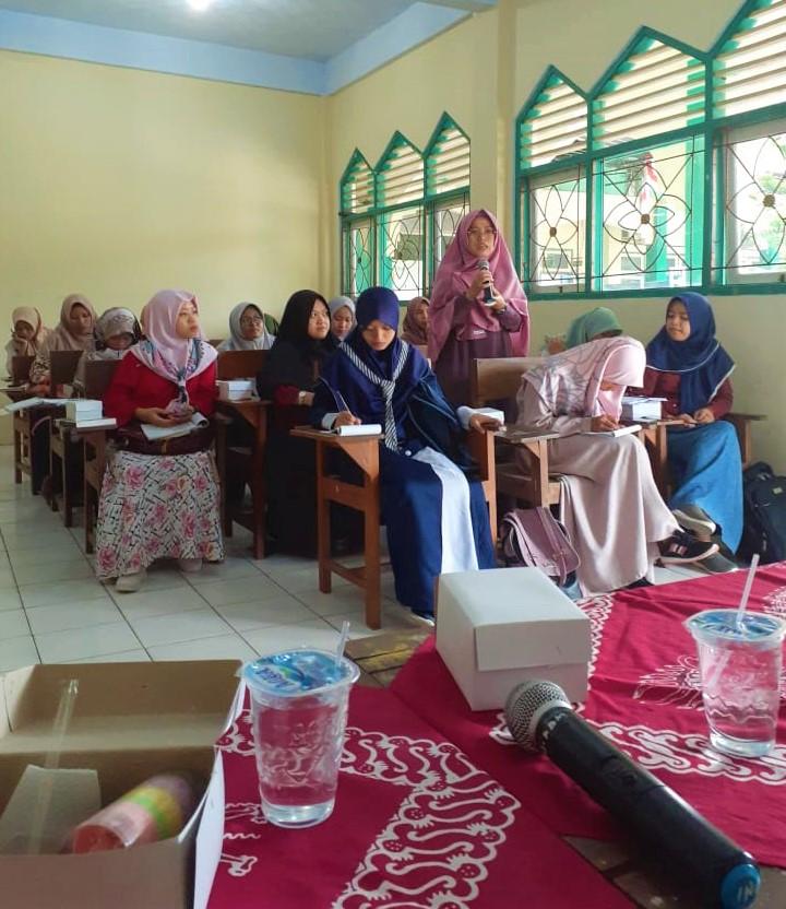 Rihlah Ilmiah Fakultas Tarbiyah di awal ramadhan iainu kebumen